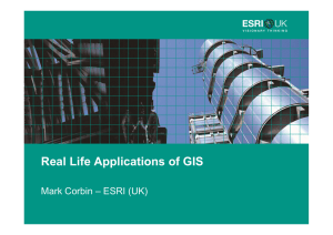 Real Life Applications of GIS