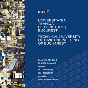 Technical University of Civil Engineering