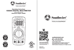 10030s digital multimeter