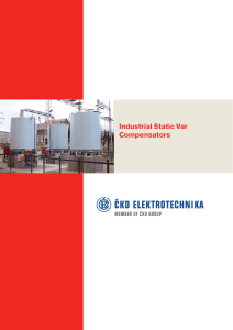 Industrial Static Var Compensators