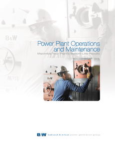 E101-3209 - Power Plant Operations and Maintenance