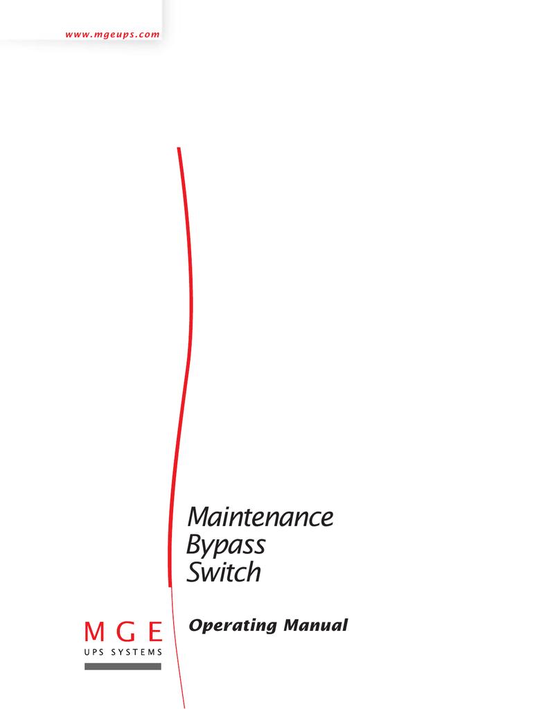 Maintenance Bypass Switch Ups Wiring Diagram 018049771 1 806fc88221ce2287f608abfde2e5b997