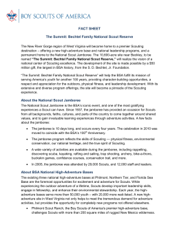 FACT SHEET The Summit: Bechtel Family National