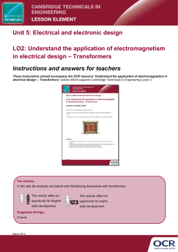 Understand the application of electromagnetism in electrical