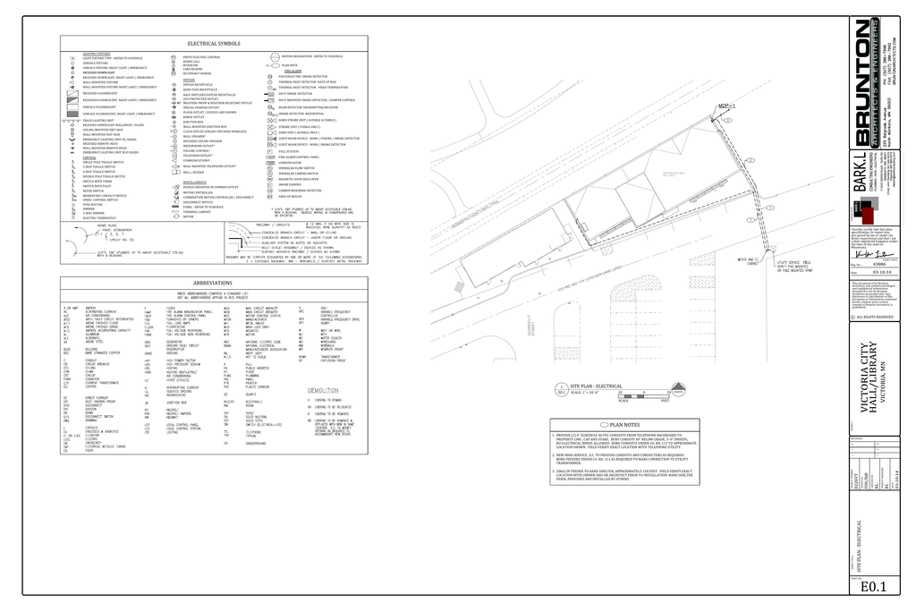 3 10 14 Electrical Plans