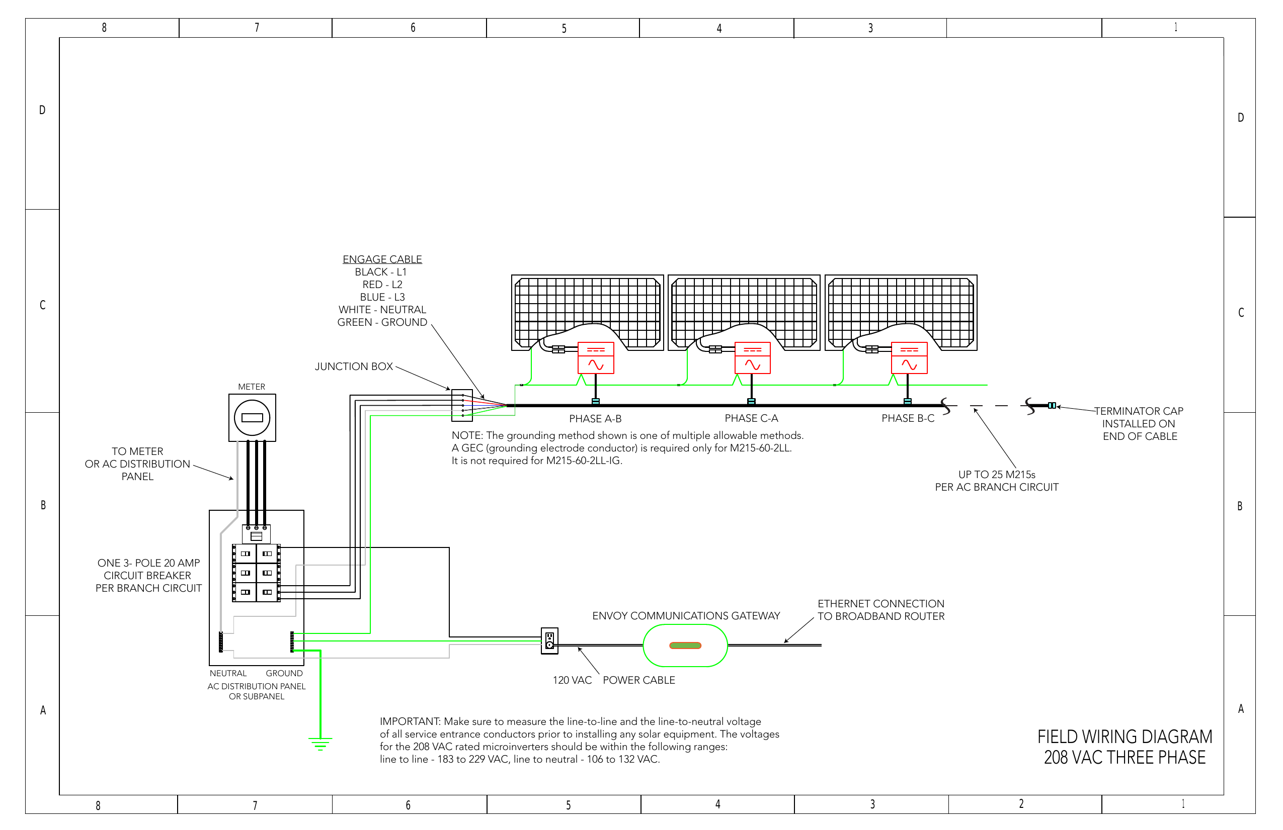 220 3 Phase Field Wiring Diagram