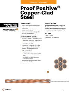 Proof Positive® Copper-Clad Steel