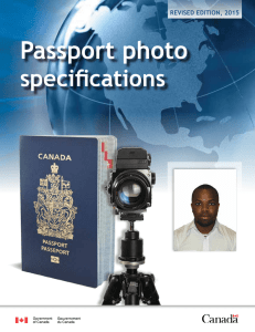 passport photo specifications publication