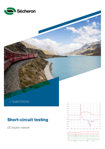 DC Traction Network Short-circuit testing