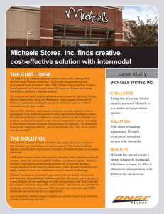Michaels Stores, Inc. finds creative, cost