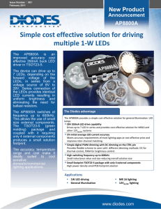 Simple cost effective solution for driving multiple 1