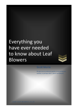 Everything you have ever needed to know about Leaf