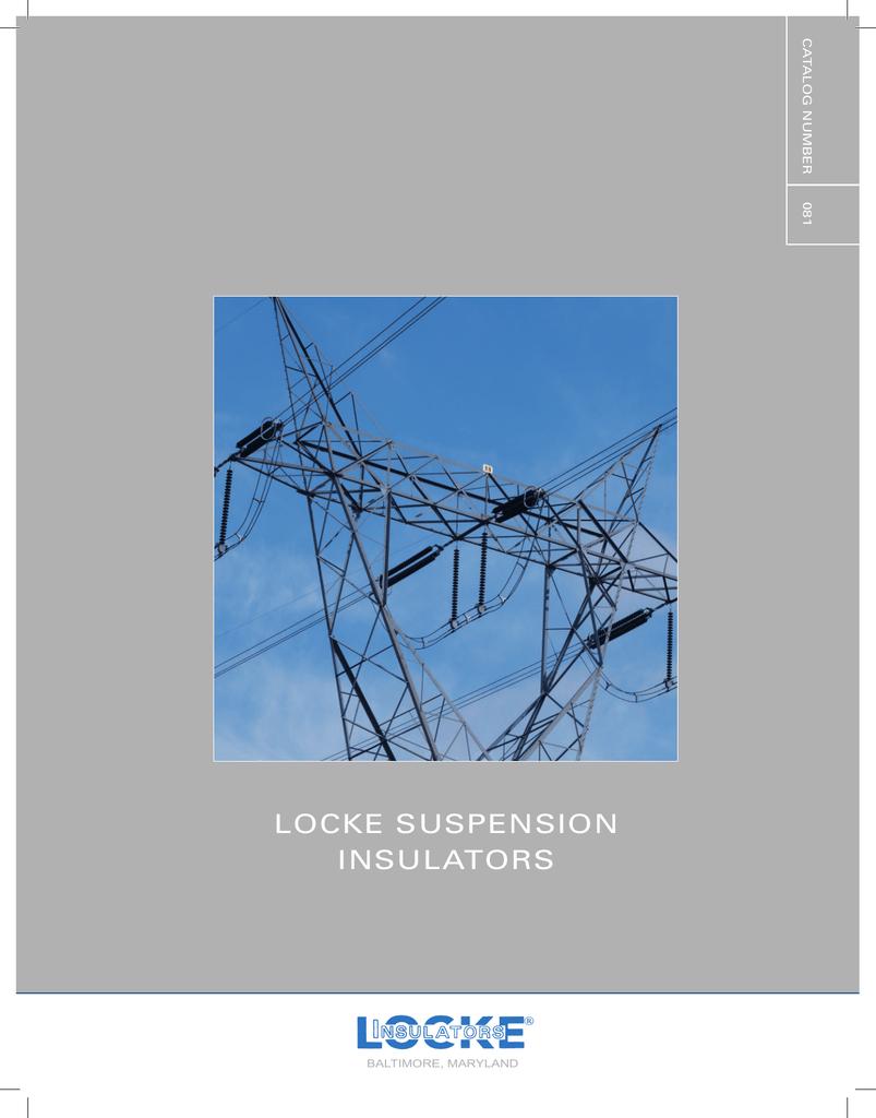 Locke Suspension Insulators - NGK