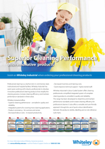 Superior Cleaning Performance