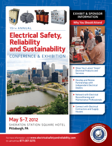 Electrical Safety, reliability and Sustainability