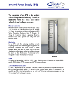 Isolated Power Supply (IPS)
