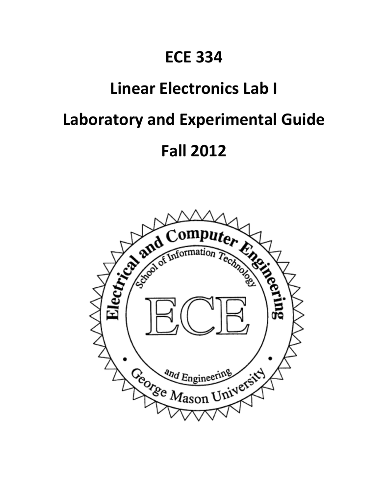 Ece 334 Linear Electronics Lab I Laboratory And Experimental Methods For Automotive Circuits Electronicslab