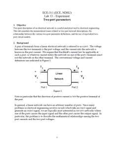 ECE-311 (ECE, NDSU) Lab 13 – Experiment Two