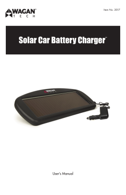 Solar Car Battery Charger™ by Wagan