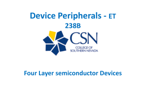 A four-layer semiconductor device