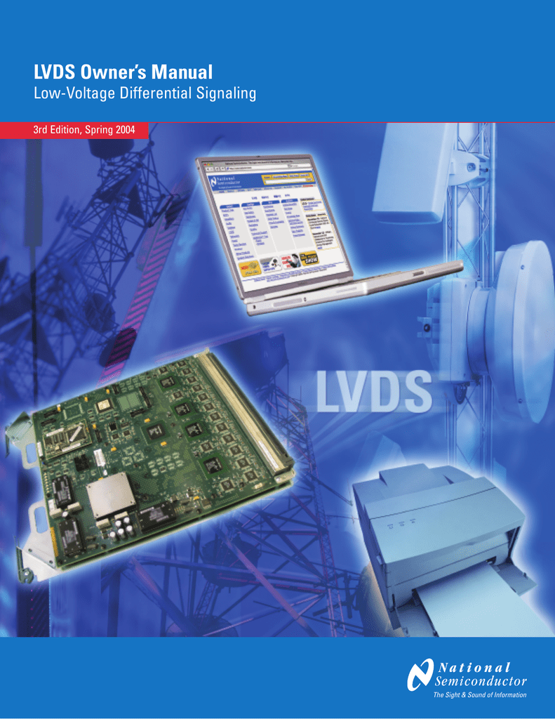 Lvds Owners Manual Low Voltage Differential Signaling Pdf Kembrey Wiring Systems