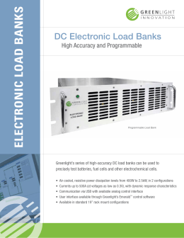 electronic load banks - Greenlight Innovation