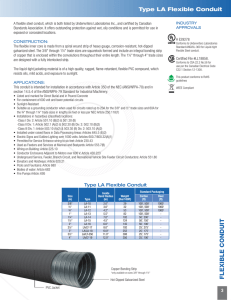 flexible conduit - Encore Wire Corporation