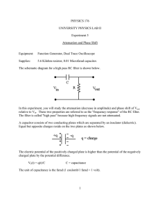 Attenuation and Phase Shift