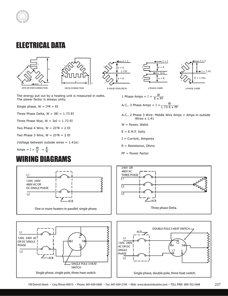 Electrical Data Wiring Diagrams 480v 3 Phase Delta Transformer Diagram