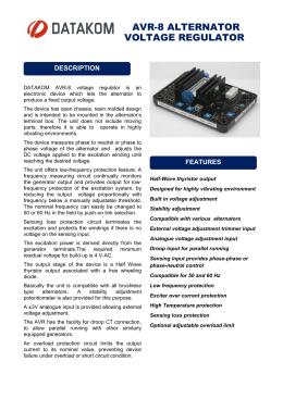 mx341 automatic voltage regulator avr avr 8 alternator voltage regulator datakom electronics engineering as