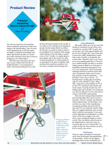 Product Review - Precision Aerobatics