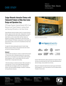 Scripps Networks Case Study