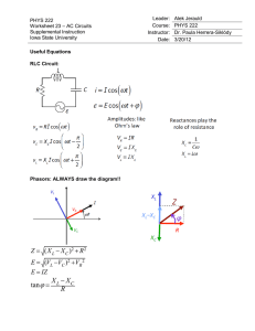 PHYS 222 Worksheet 23 AC Circuits ANSWERS