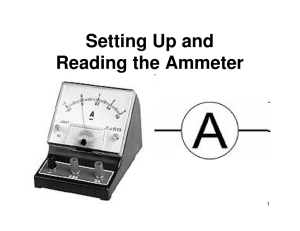 08_Using an Ammeter ad Voltmeter