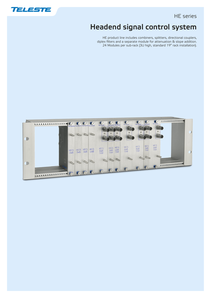 Headend signal control system