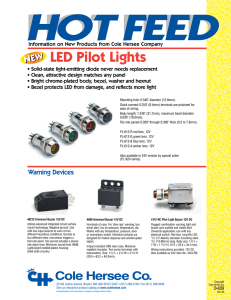 led pilot lights