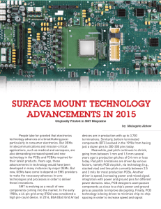 surface mount technology advancements in 2015