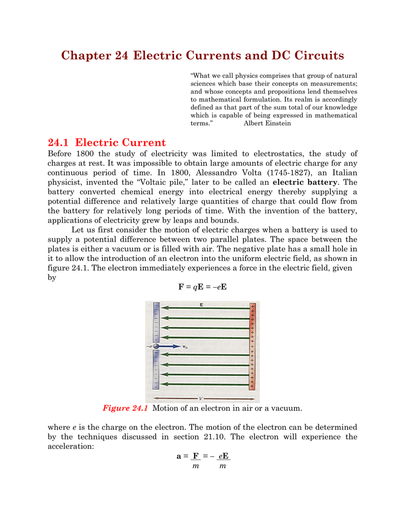 Chapter 24 Electric Currents And Dc Circuits Resistors In Series Parallel Free Physics 018066616 1 132762198969bd13d2021e347f389b67