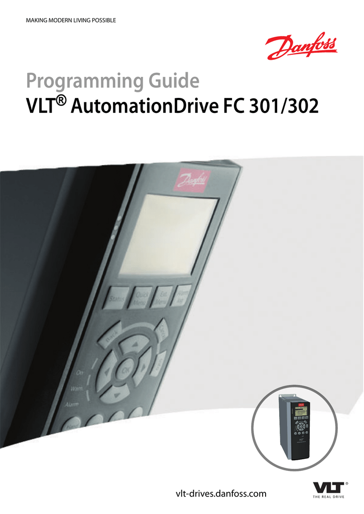 Programming Guide VLT AutomationDrive FC 301