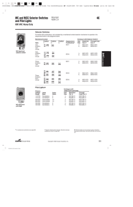 Technical Datasheet - Nedco