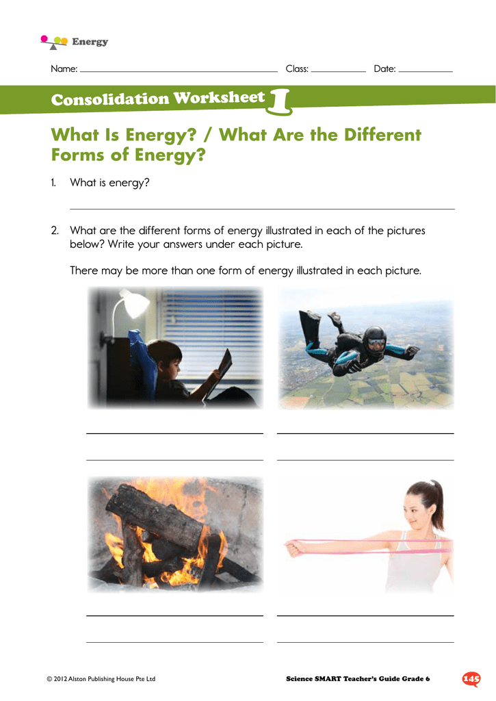 What Is Energy? / What Are the Different Forms of Energy?