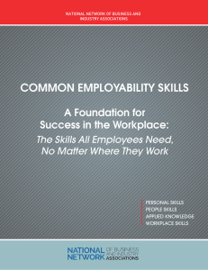 Common Employability Skills
