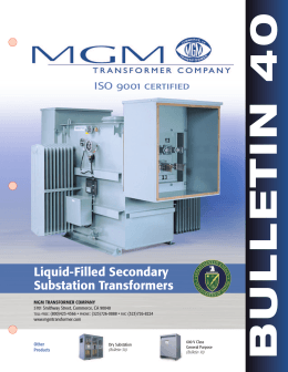600 volt class k factor rated guide spec Mgm Transformer Wiring Diagram liquid filled substation transformers \u201cbulletin 40 mgm transformer wiring diagrams