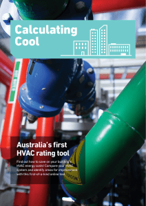 Calculating Cool - Sustainability Victoria