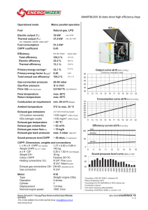 SMARTBLO OCK 16 data a sheet high h efficiency- -chpp