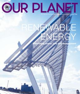 Renewable Energy - Generating power, jobs and