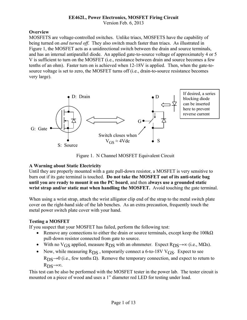 Mosfet Firing Circuit Lab Document Circuitlab 3 Inverter Oscillator 01