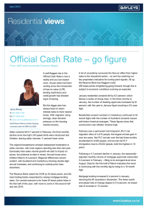 Official Cash Rate – go figure - Jenny Murray