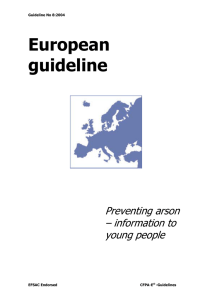 European guideline