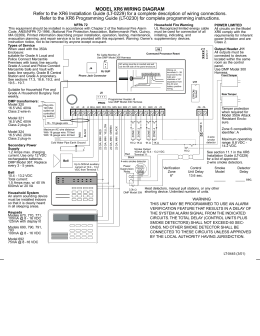 ps914 power supply Von Duprin PS914 900 2RS model xr6 wiring diagram refer to the xr6 installation guide